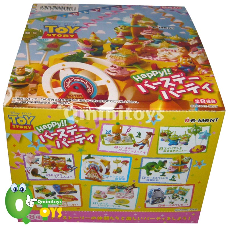 Re-ment Disney Toy Story Happy Birthday Party Full Set of 8 pcs, Q ...